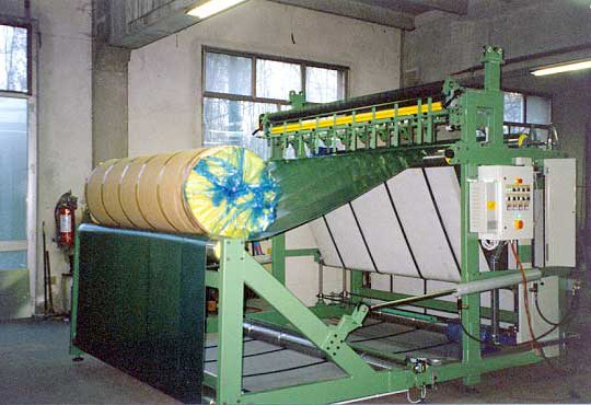 Machinery for rolls volume reduction
